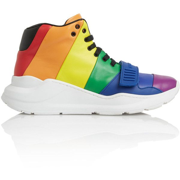 8a29912357a5d9 Regis Rainbow High Top Sneaker