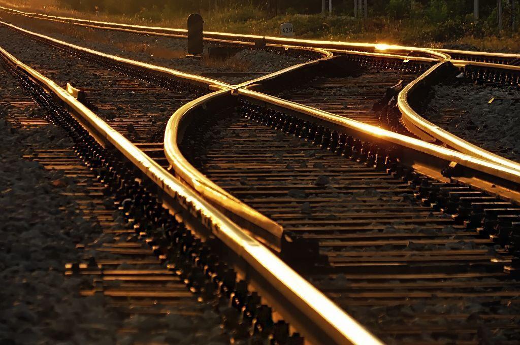 Which Way To Go Railway Tracks In Kustosija Zagreb Croatia City Of Zagreb Zagreb To Go