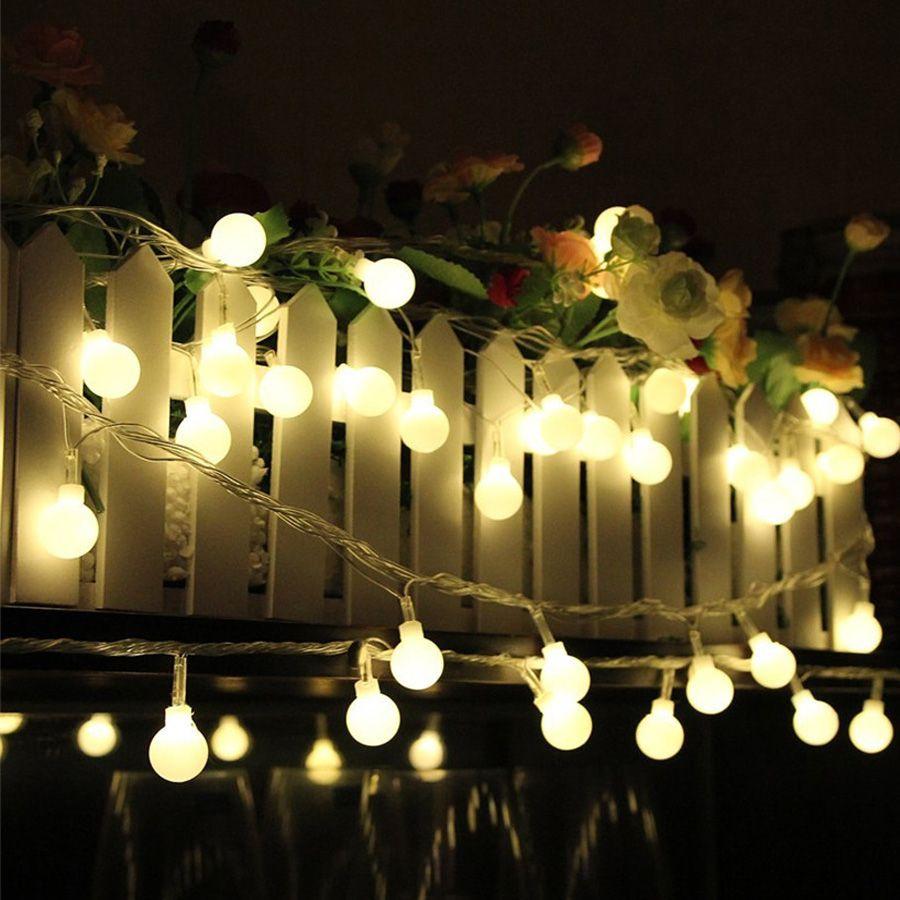 3m 4m 5m ball christmas string lights outdoor aa battery powered 3m 4m 5m ball christmas string lights outdoor aa battery powered fairy string garland light holiday aloadofball Images