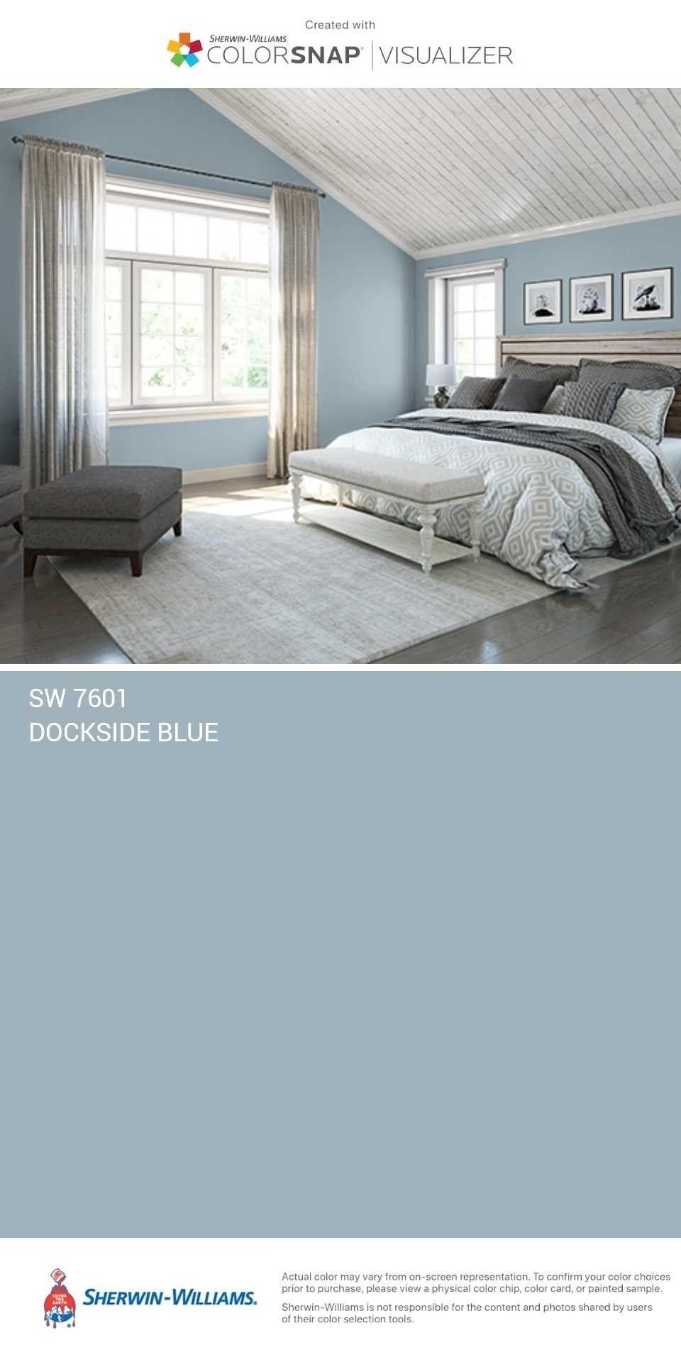 Sw Dockside Blue Bedroom Wall Colors Bedroom Paint Colors Bedroom Colors