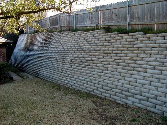 71214d1172603236 Retaining Wall Unopened Sacks Concrete P2270003