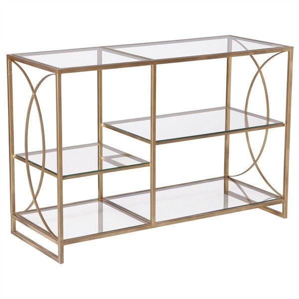 Gold Windsor Shelf Scenario Home Moveis De Ferro Moveis