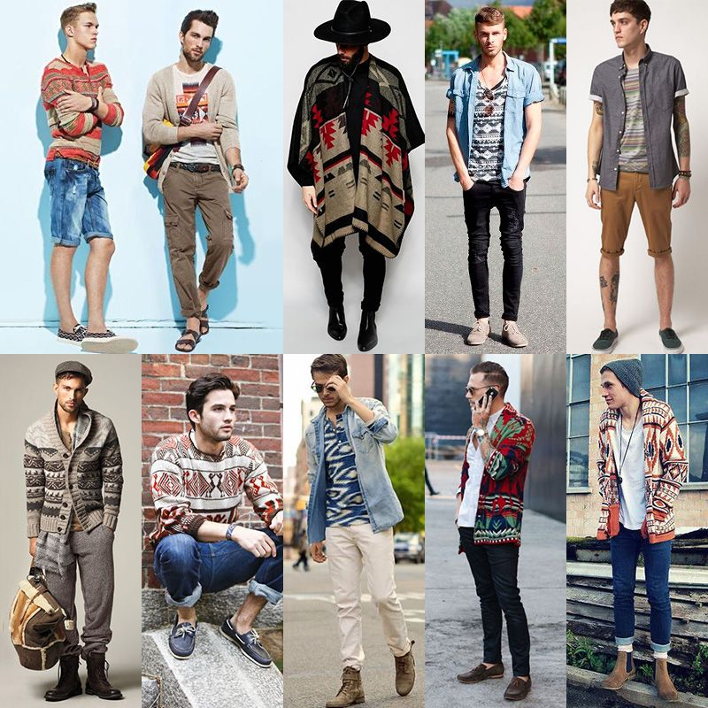 men's geotribal trend