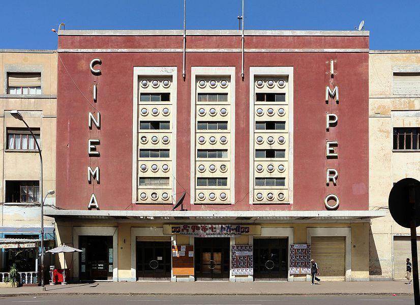 Art Deco - Cinema Impero in Asmara, Eritrea (1937)