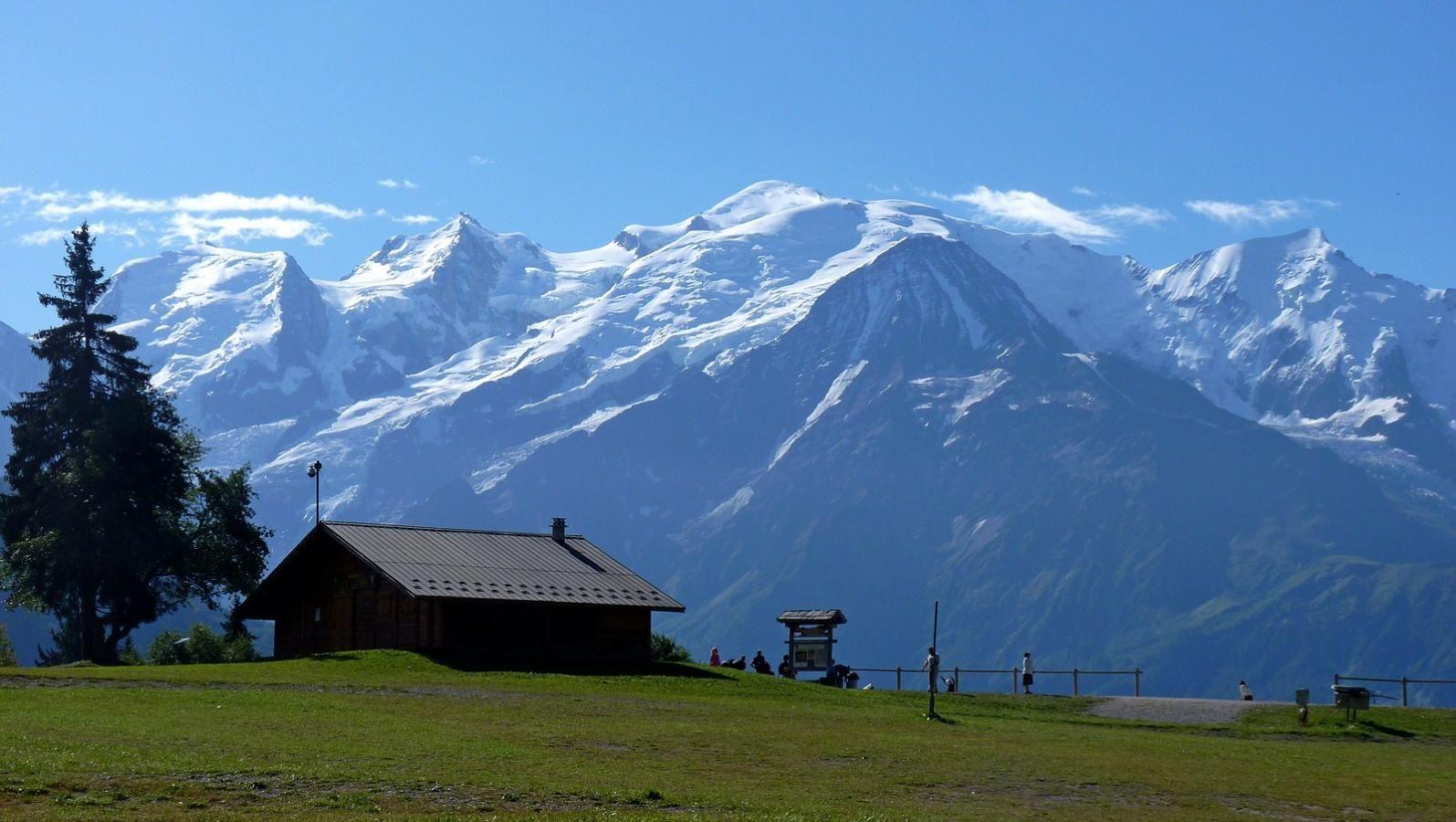 (22) Passy Plaine-Joux : panorama sur la chaine du Mont Blanc - Haute Savoie