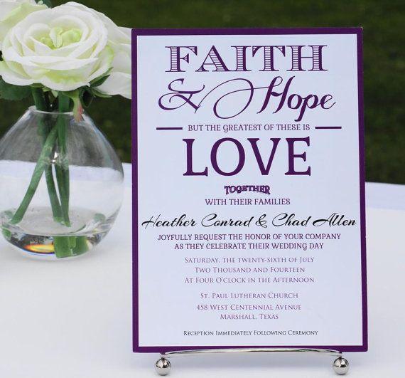 Spiritual Wedding Invitation Affordable Invite Invitations Diy Unique Suite
