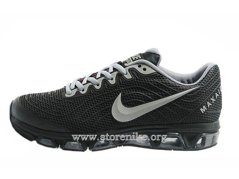 cheap for discount 79a9a 34144 ... reduced nike air max tailwind 6 pu chaussures de course pour homme noir  argent 621078 007