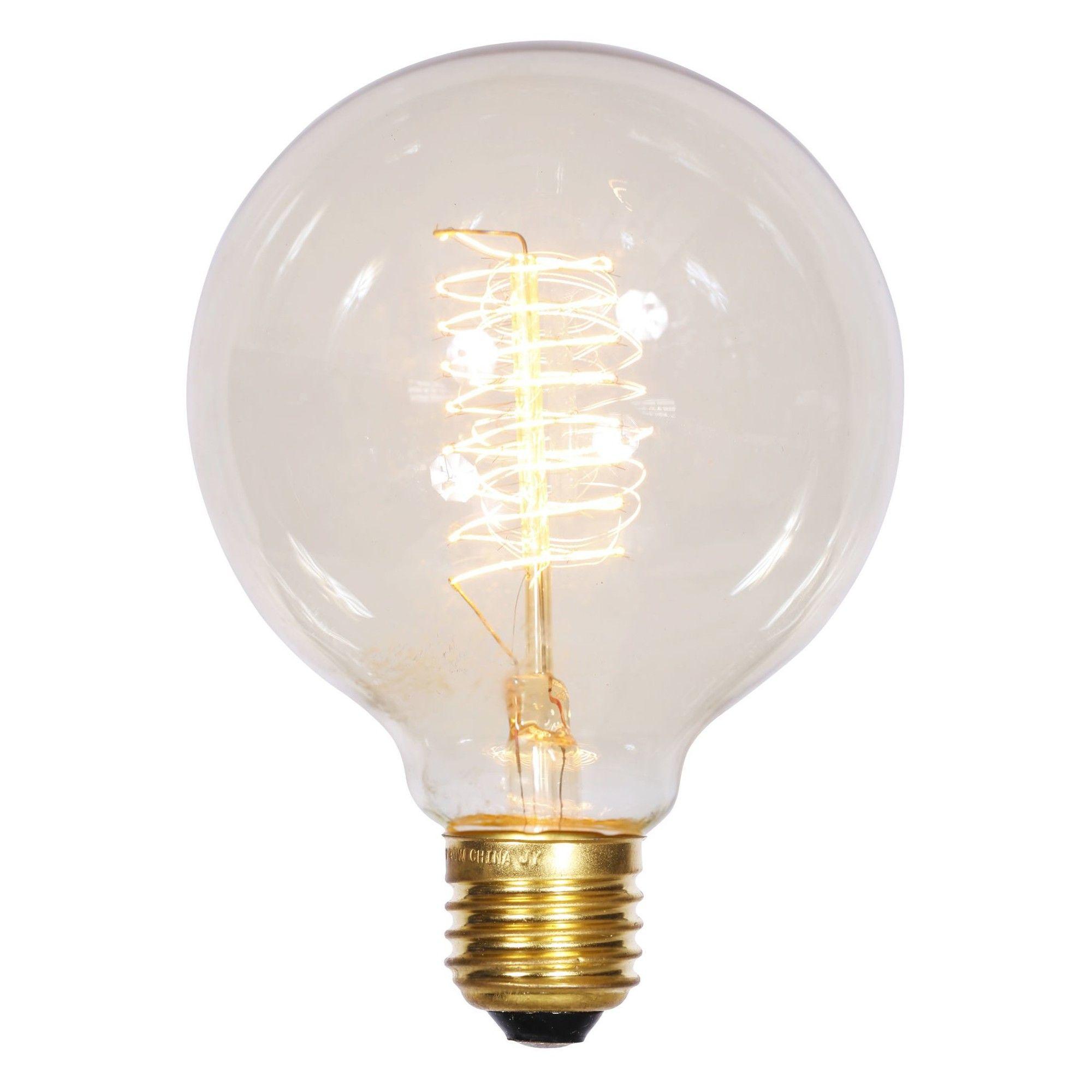 G50 White Christmas Light Bulb   White christmas lights, Light bulb ...