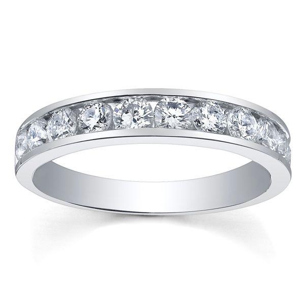 Maple Leaf Diamonds 18ct White Gold Half Eternity Ring