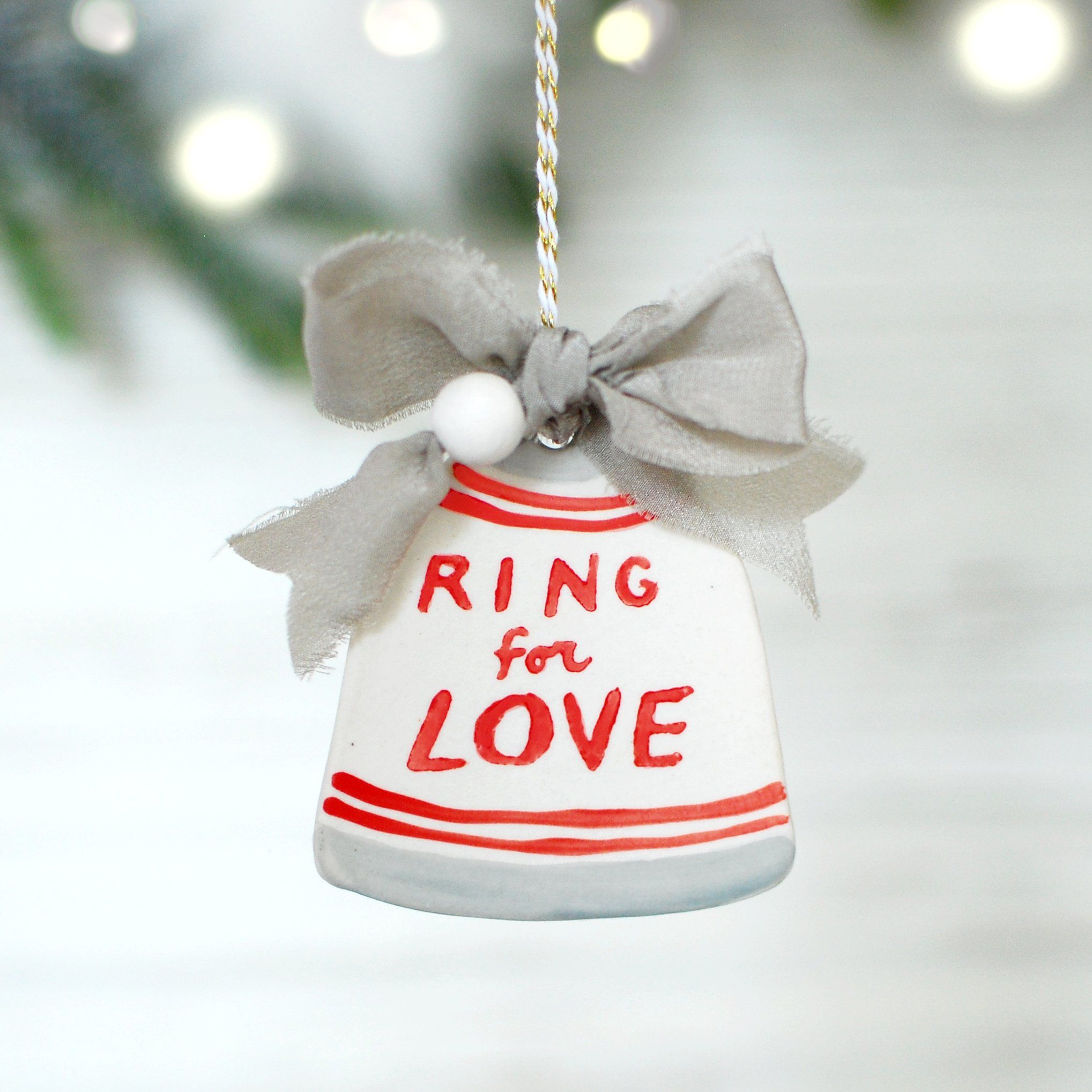 Ring for Love Bell Love bells, Sympathy gifts, Christmas