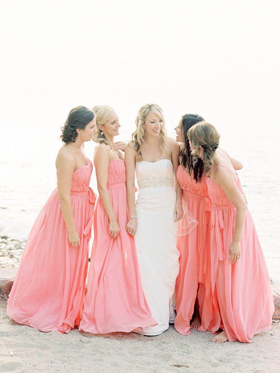 Puerto Vallarta Wedding at La Mansion | Damitas de honor, Coral y Damas