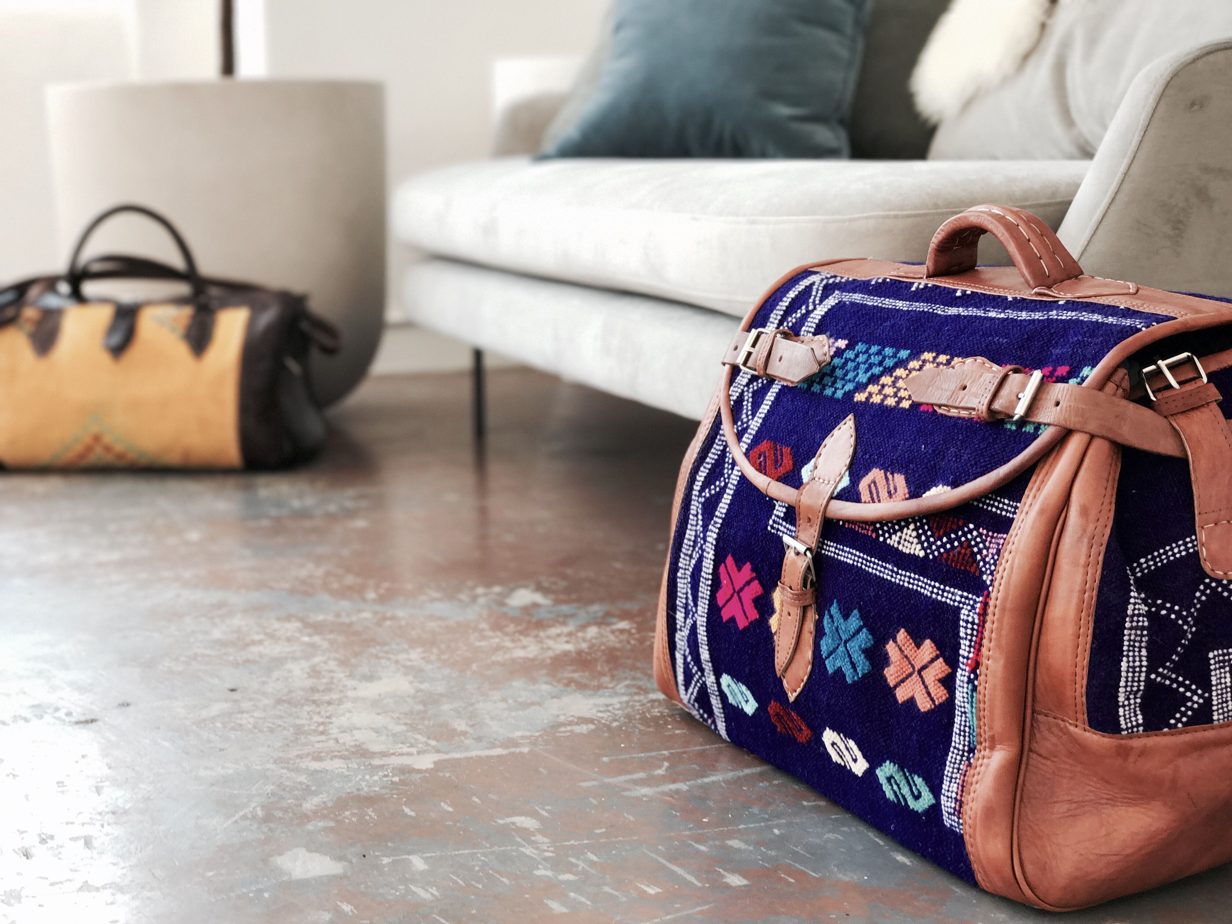 0da74df82930 Moroccan Soul Duffle Bag - Purple