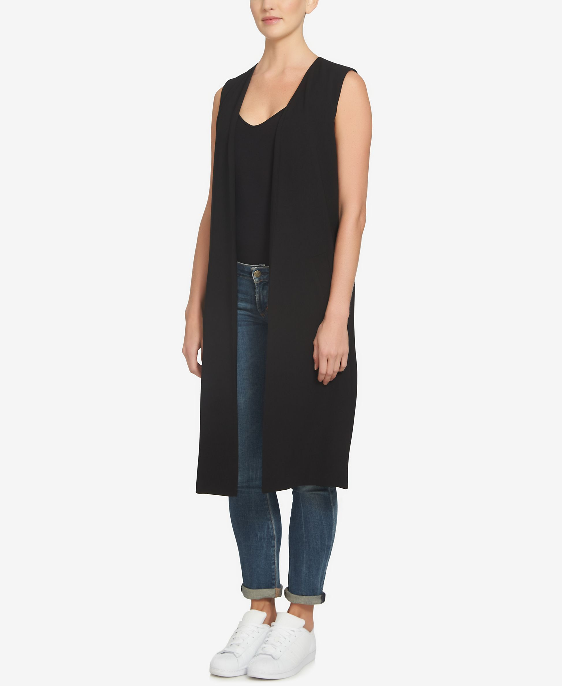 1.state Open-Front Maxi Vest