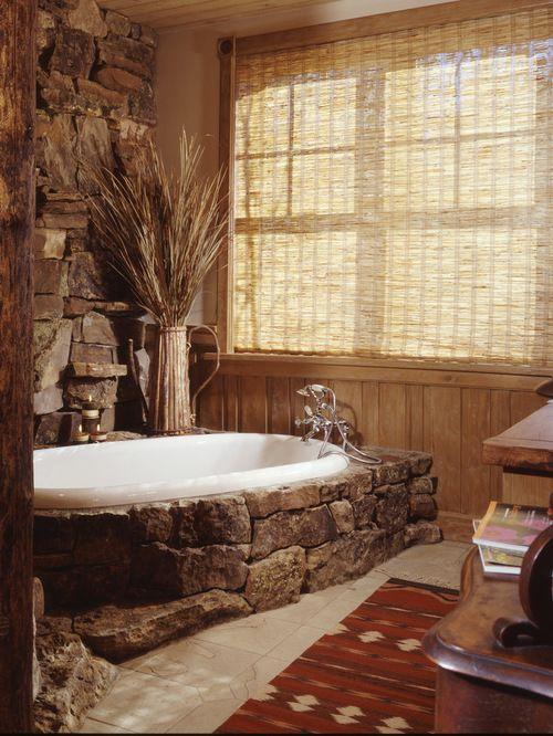 Stone Bathtub Surround Home Design Ideas, Renovations U0026 Photos