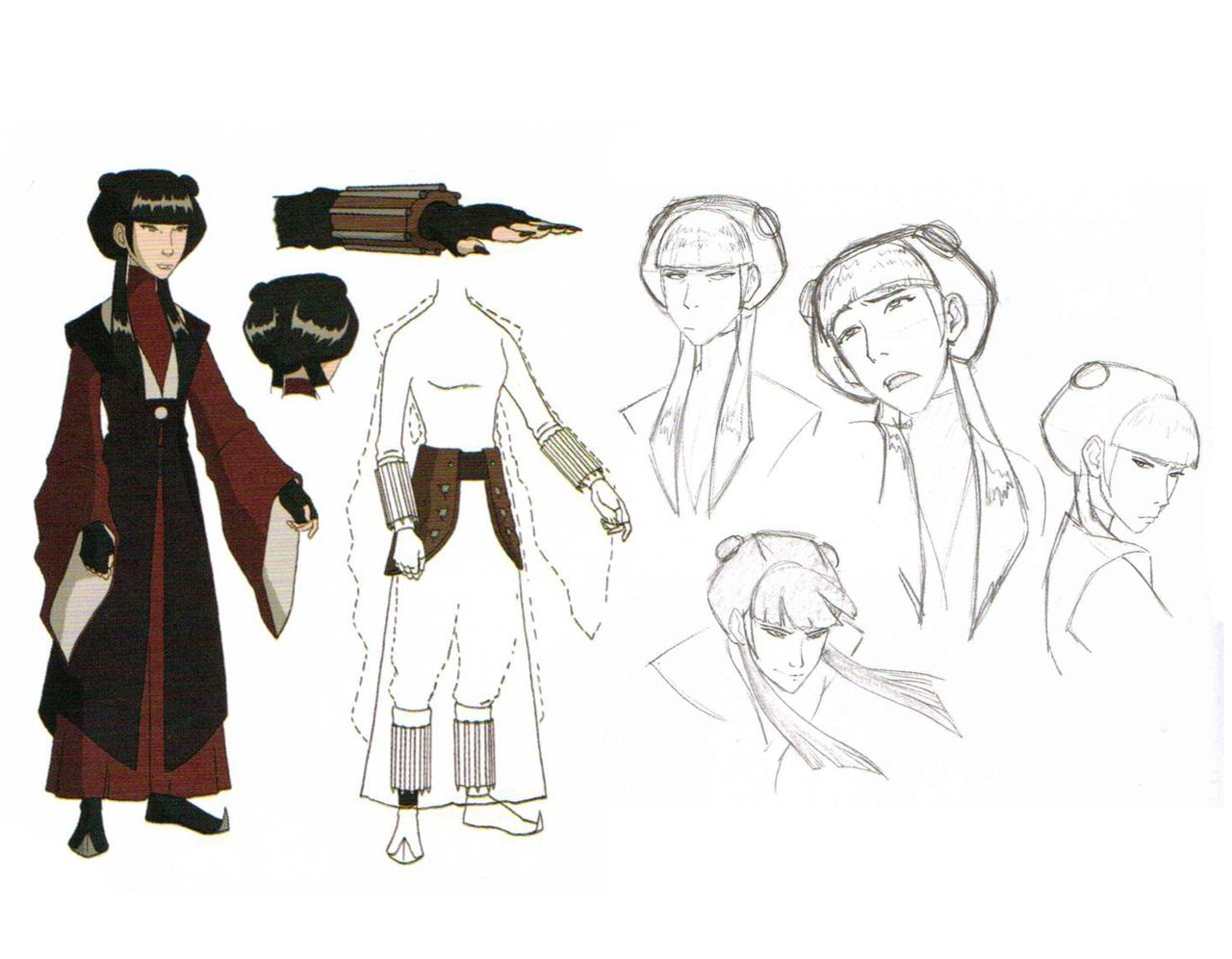 Avatar Last Airbender Character Design : Mai costume and character design i did not know that she