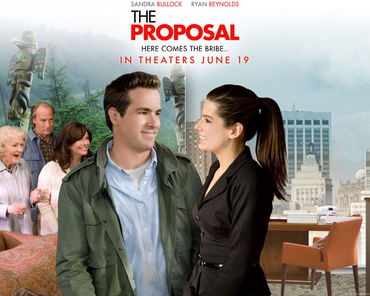 Watch Streaming HD The Proposal, starring Sandra Bullock, Ryan ...