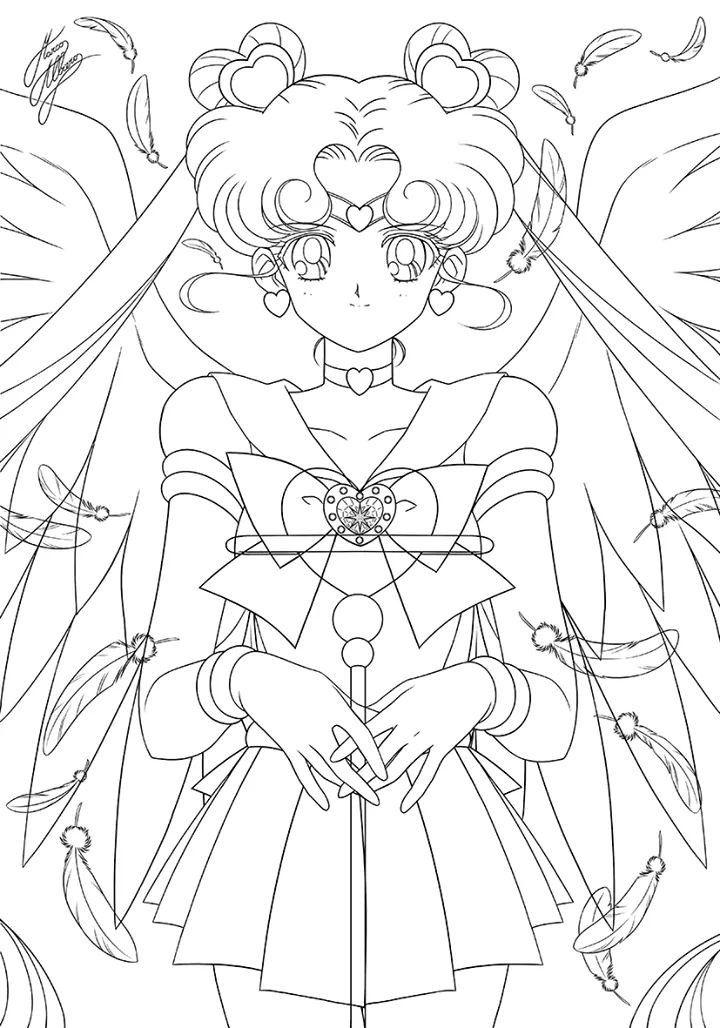 Pin von Keerati Oichi auf Dibujitos Sailor Moon Seemann