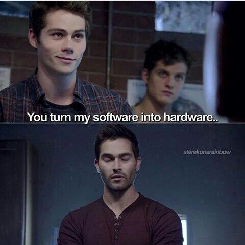 You turn my software into hardware :'D :'D :'D