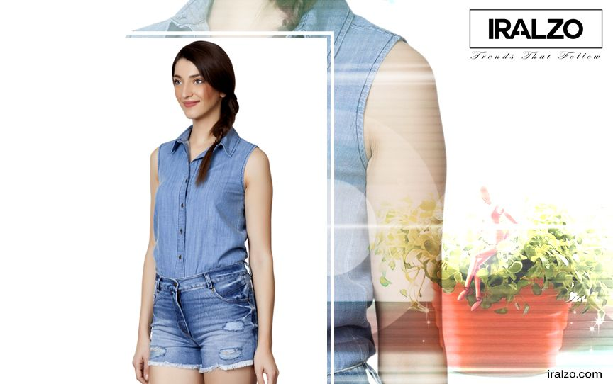 bff6ccfcf48d05 Pair yours with denim shorts to rock the denim-on-denim look that s been