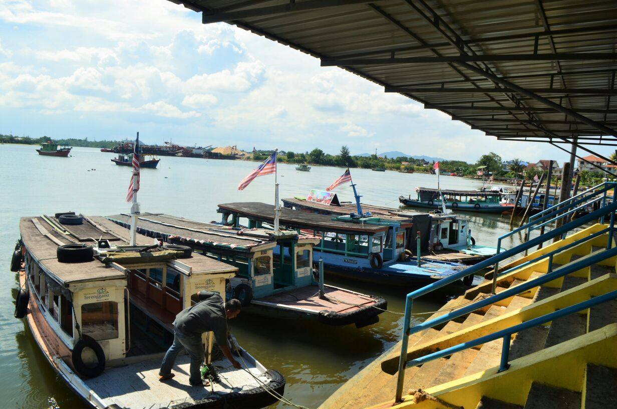 Nearby; Merang Suria Resort