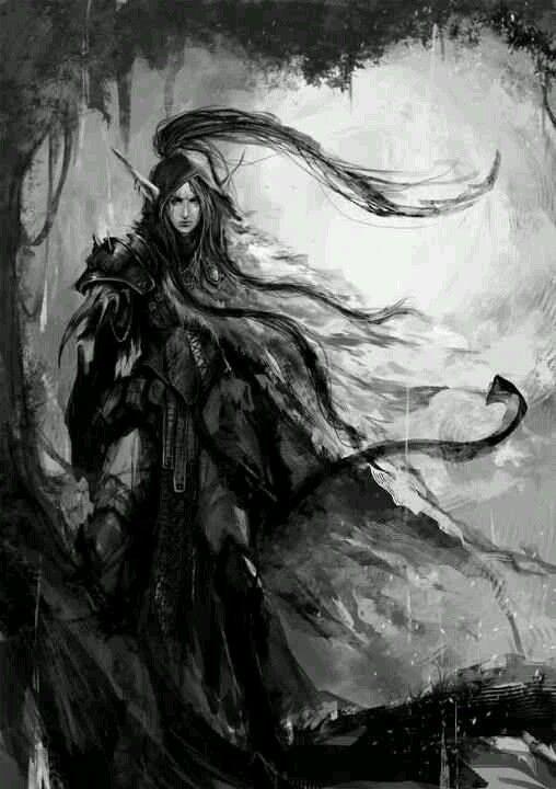 Dark fantasy art