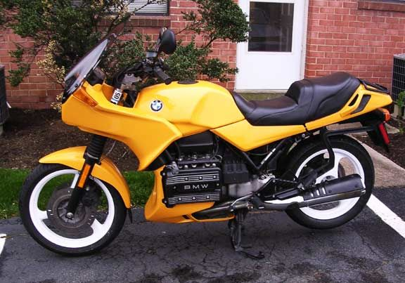 1986 Bmw K 75 S Moto Bmw Bmw Motorcycles Motorcycle