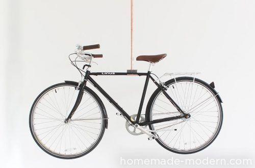 Copper Bike Rack