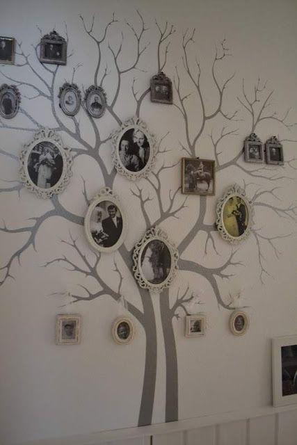 B.TREE: Unser Stammbaum | Stammbäume | Pinterest | Stammbaum, Deko ...
