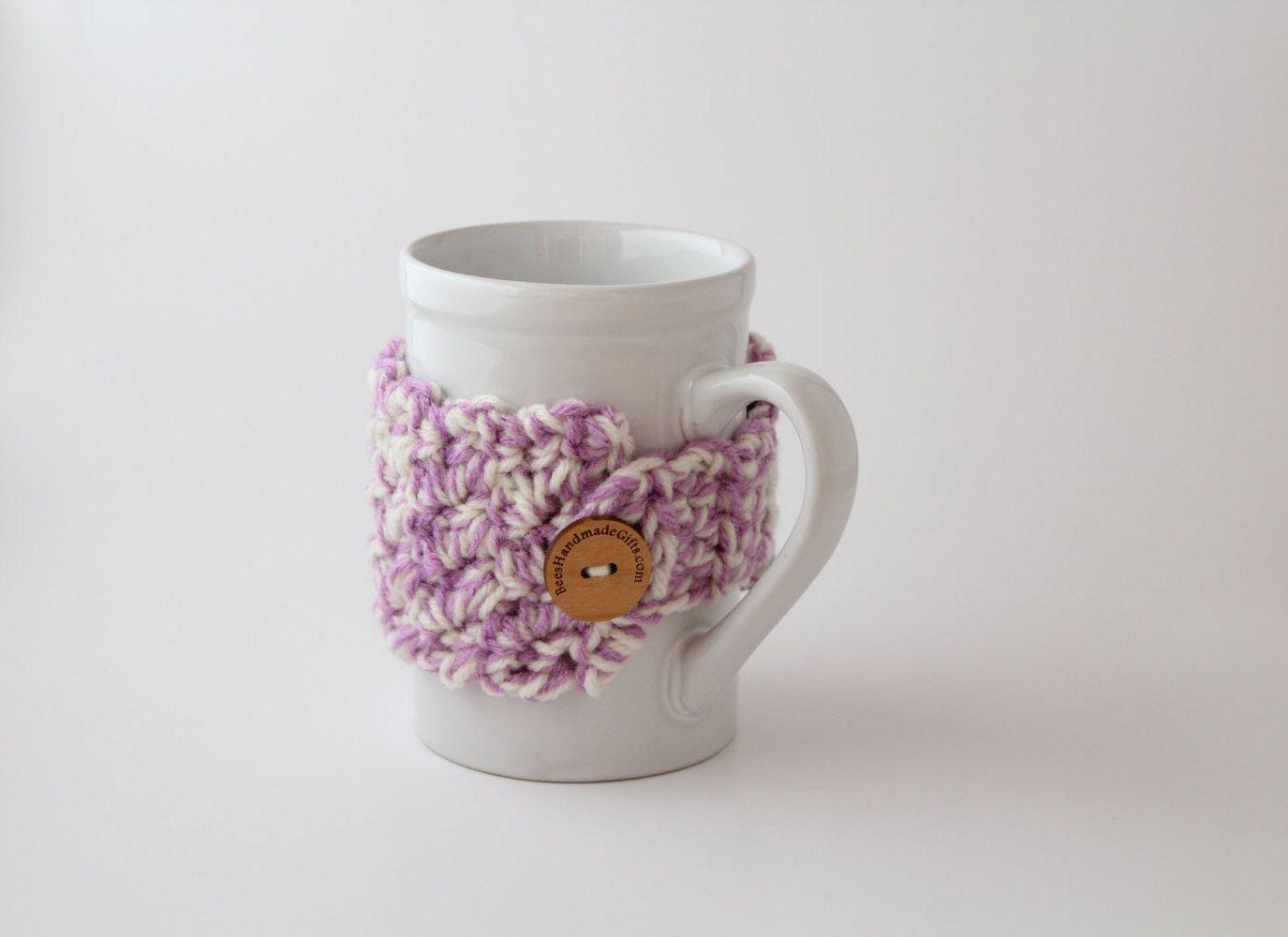 Coffee Cup Warmer - Coffee Lover Gift - Coffee Cup Sweater - Tea Cup ...