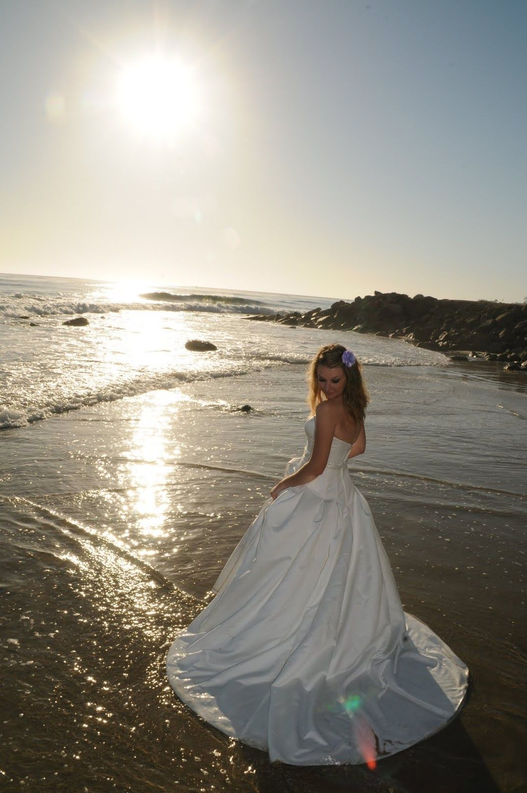 Trash The Dress Not Sure If I Could Take My In Water Though: Beach Trash Dress Wedding Dresses At Websimilar.org