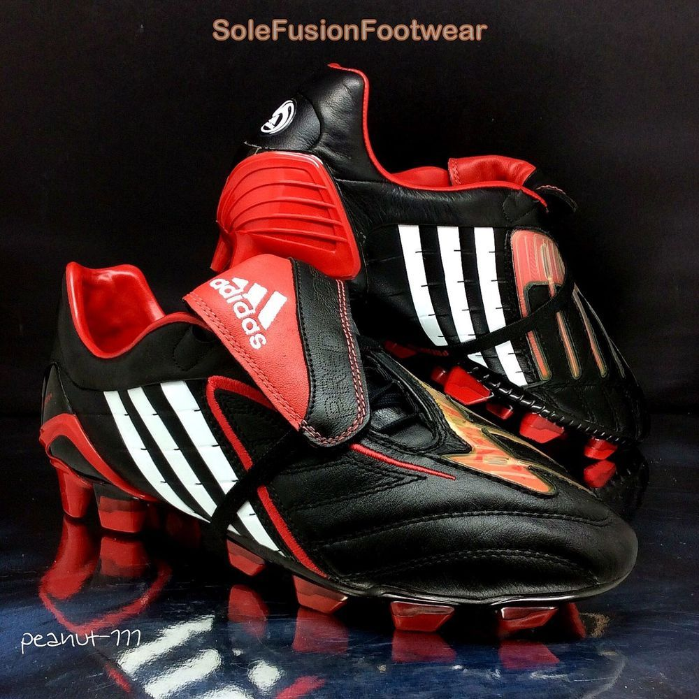 new arrival ebaff d7f28 adidas Mens Predator Powerswerve Football Boots sz 8.5 Soccer Cleats US 9  42 23  eBay