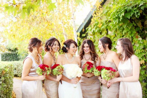 Red Champagne And Green Wedding Colors Inspiration From Www Eventdazzle Dream Ideas