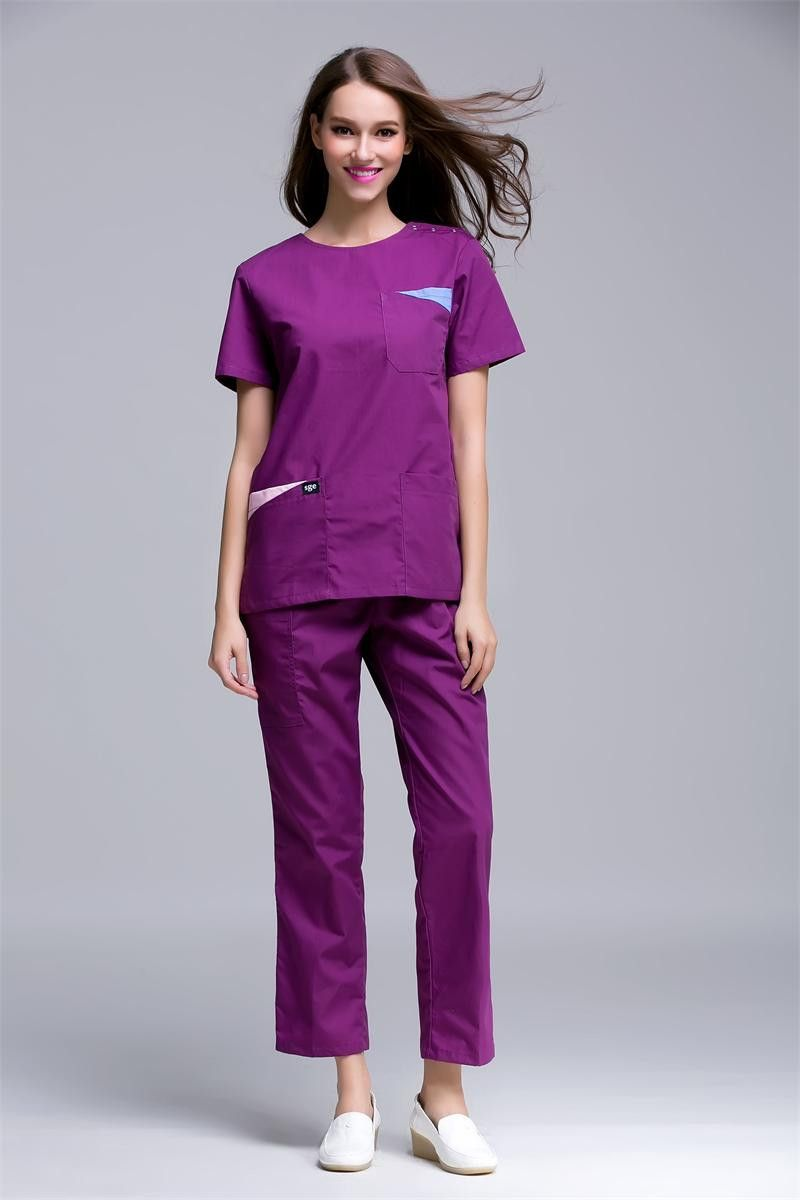 New Arrival Medical Scrub Sets Surgical Hospital Work Overalls Dental Clinic Beauty Salon Workwear Uniforms Doctors Clothing Work Wear & Uniforms