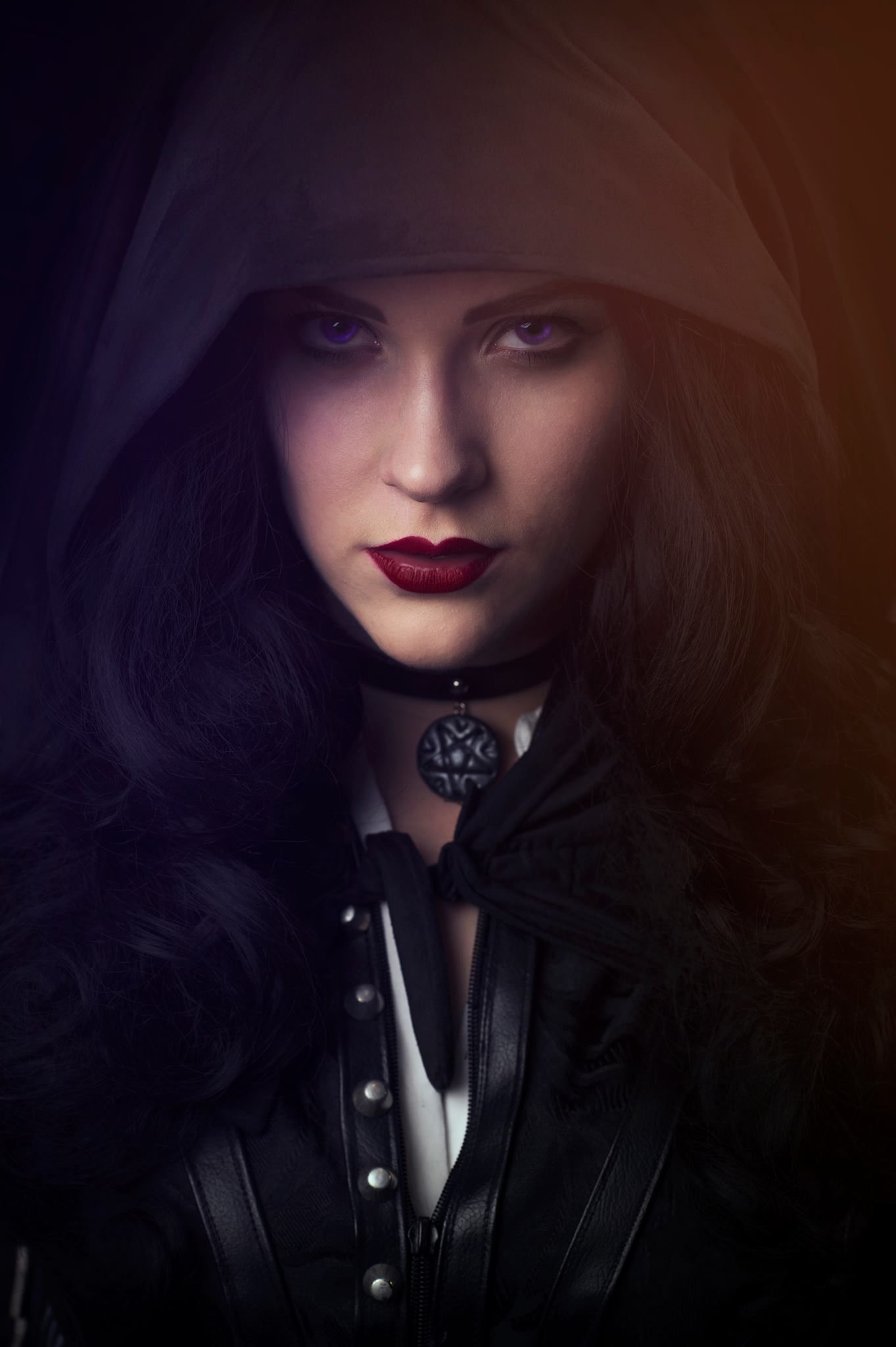 Pin On Video Game Cosplay Yennefer Of Vengerberg The Witcher