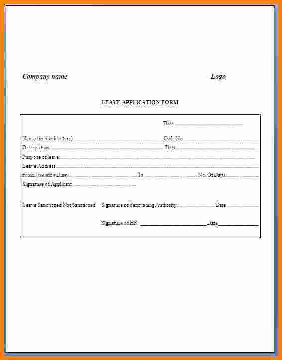 7 leave letter from office ledger paper ledger paper sampleresume 7 leave letter from office ledger paper ledger paper sampleresume leaveapplicationformat altavistaventures Choice Image