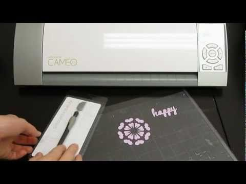Silhouette Spatula 101 Silhouette Cameo Instructions Pinterest