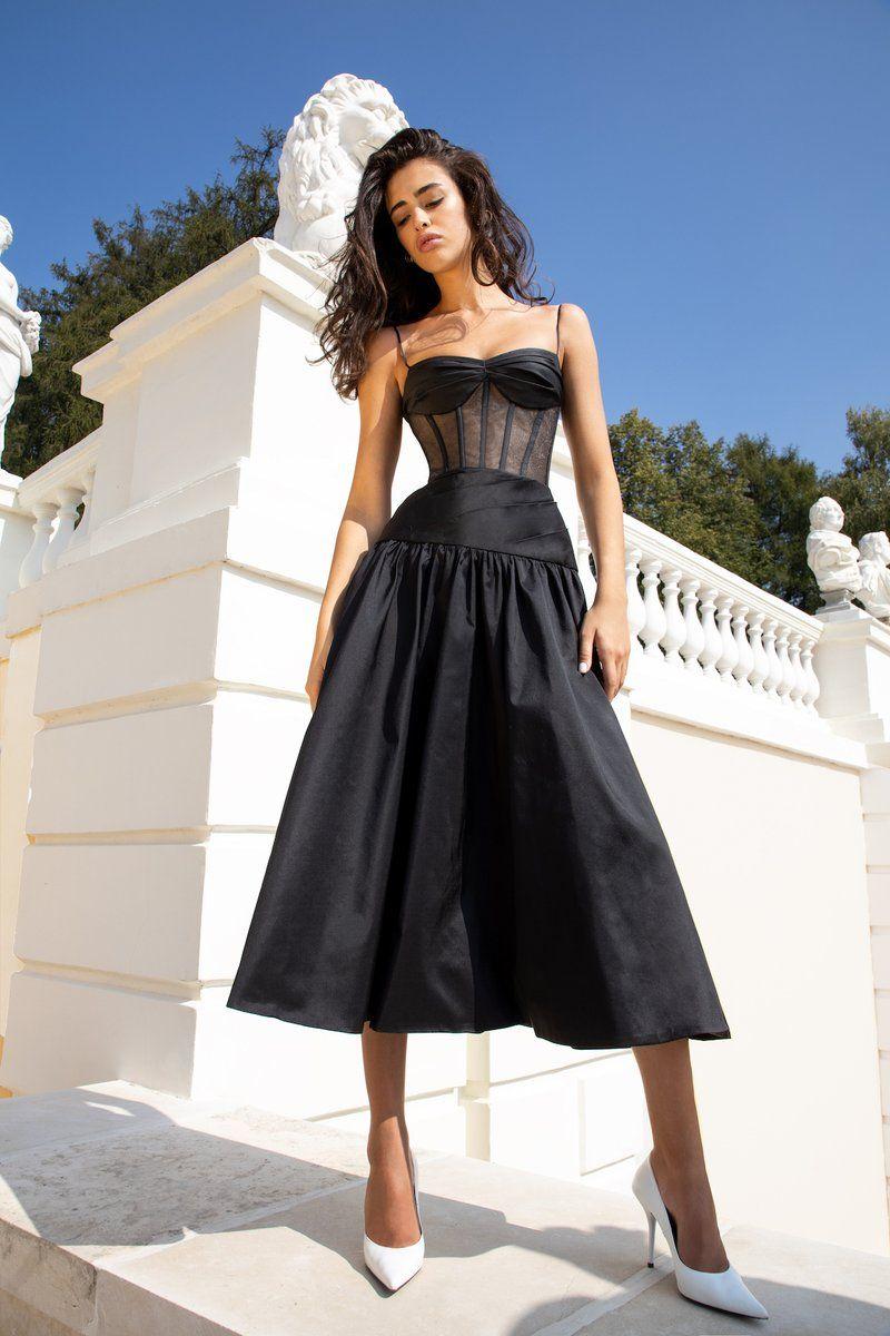 Missguided Chelsi Jersey Side Split Midi Dress Black Online Dress Shopping Black Midi Dress Dresses [ 1839 x 1516 Pixel ]