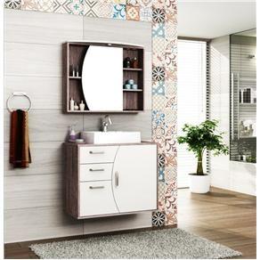 Conjunto Banheiro Duna 80 Cm Bosi