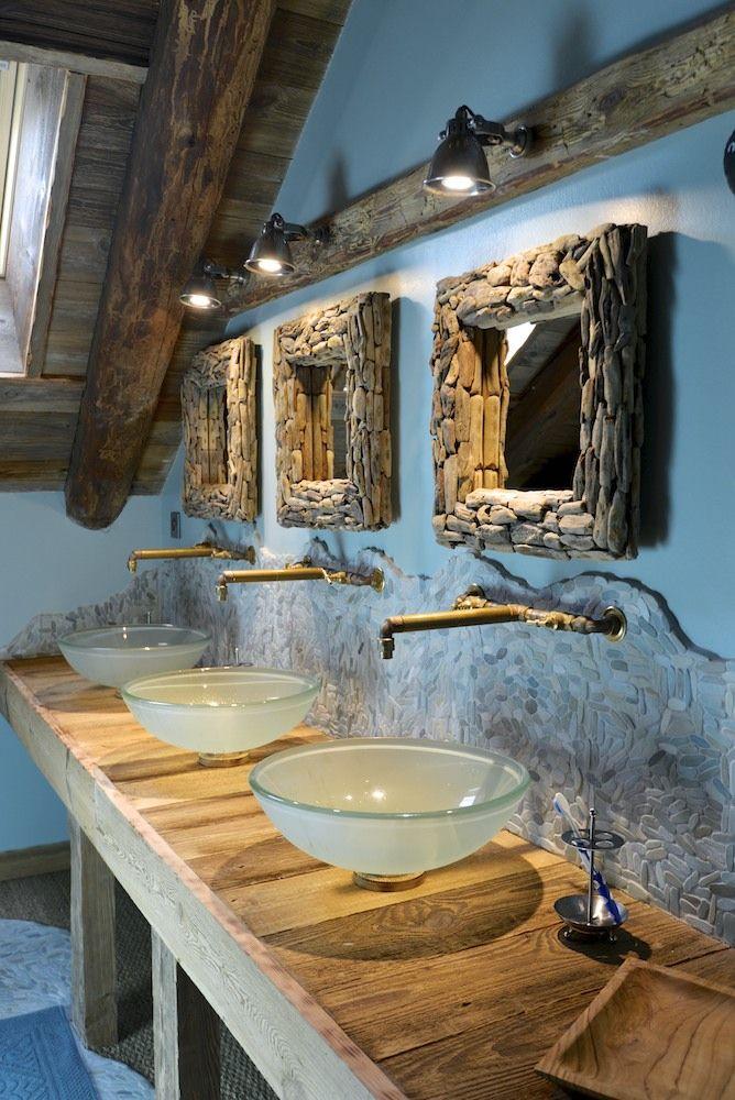 salle de bain turquoise et vieux bois bain turquoise de bain room - Salle De Bain Turquoise Et Bois