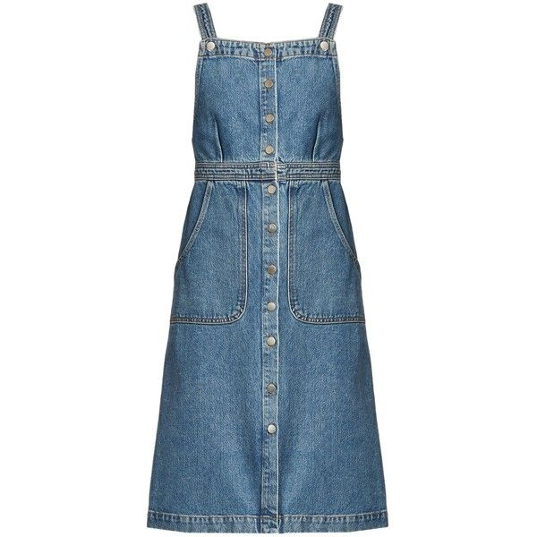 64b5c25614f M.i.h Jeans Eastman denim dress (£235) ❤ liked on Polyvore featuring dresses