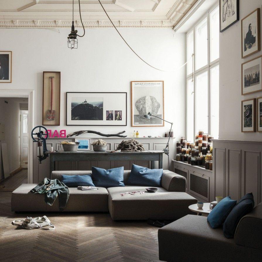 Studio Anise Freistil 184 Sofa Modern Furniture Couch Sectional Modular Interior Design Rolfbenz Seating Co Casa Möbel Sofa Monochrome Einrichtung