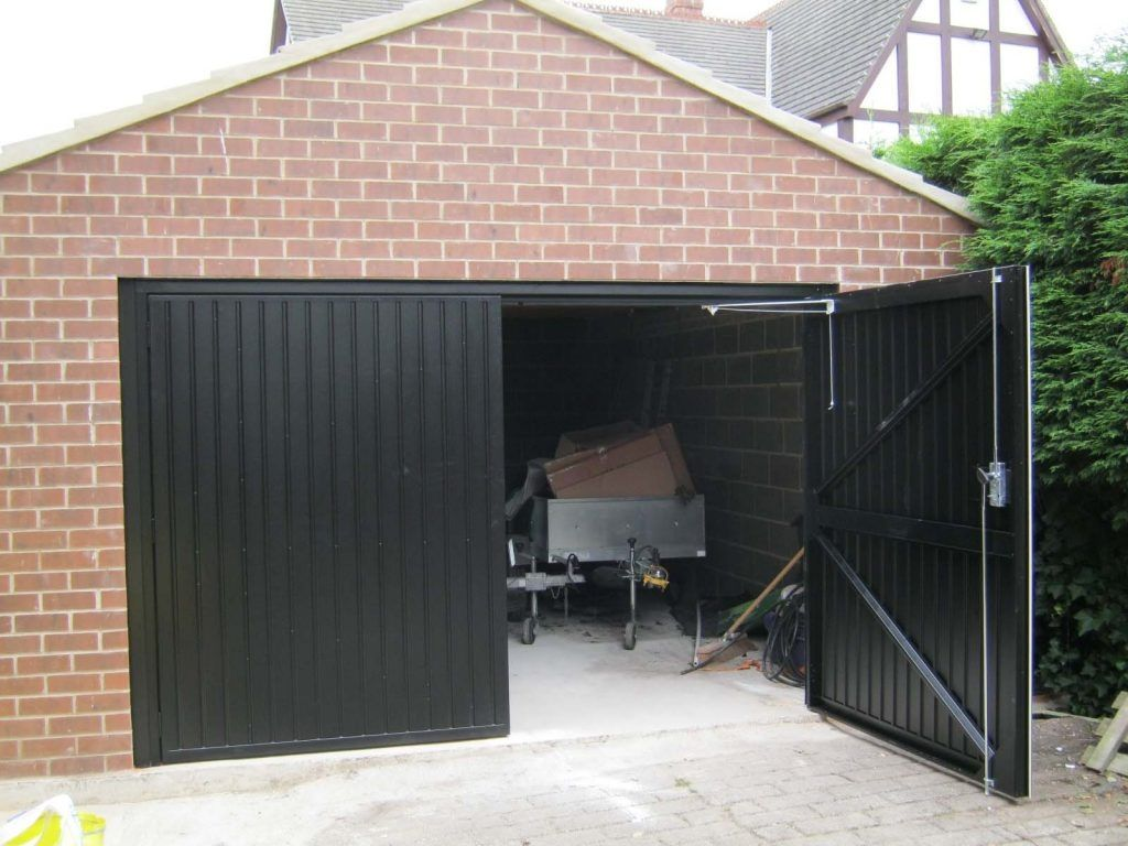 Insulated Steel Side Hinged Garage Doors Metal Garage Doors Side Hinged Garage Doors Steel Garage Doors