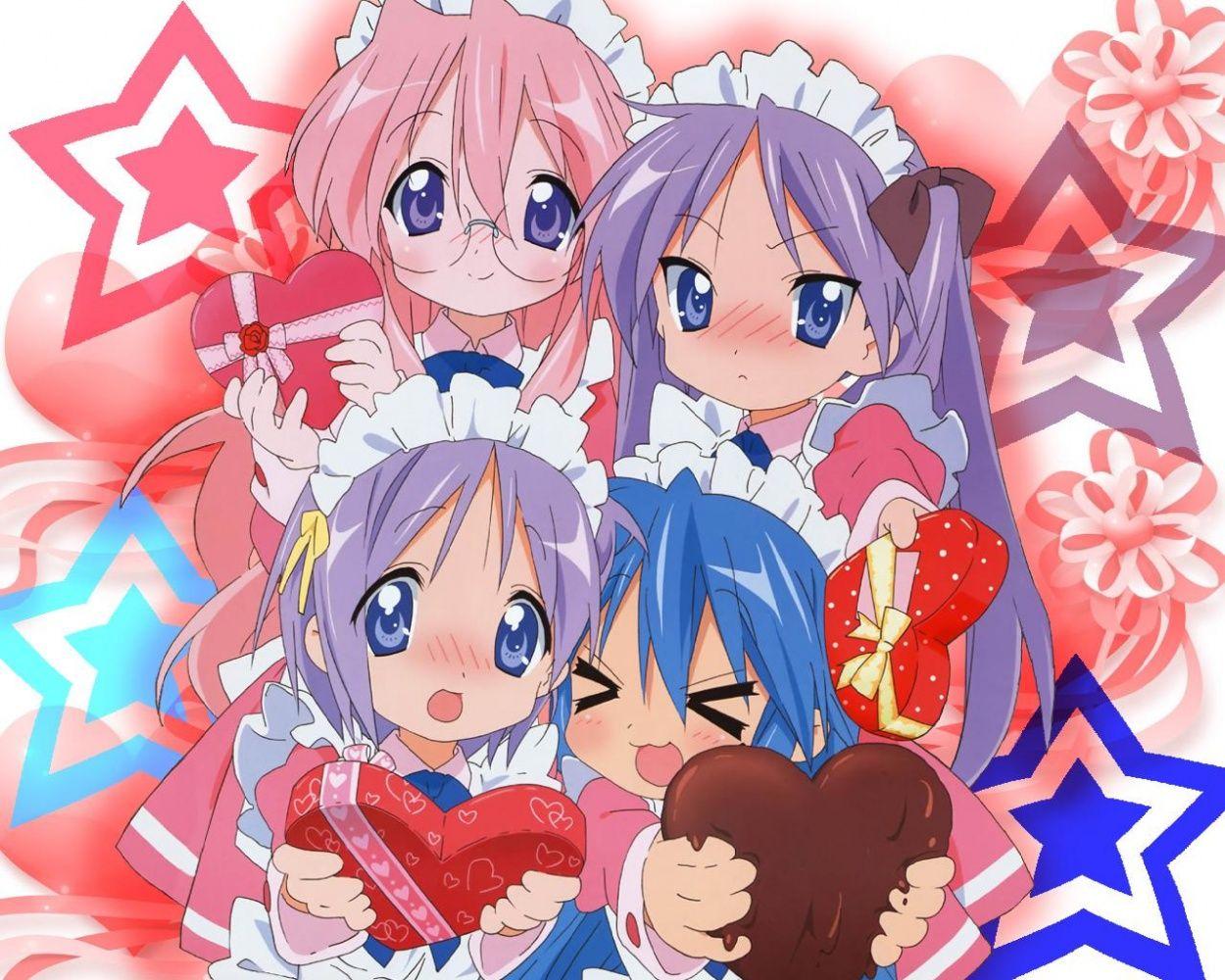 Anime Valentine S Day Valentine S Day Anime Manga Concept
