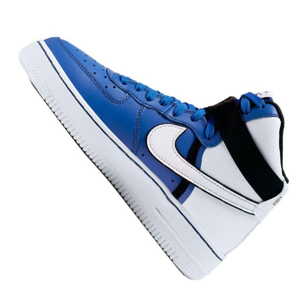 Buty Nike Air Force 1 High Lv8 2 Jr Ci2164 400 Bialo Niebieskie Biale Nike Air Nike Air Force Sneaker Nike Air Force