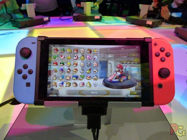 nintendo switch mario kart 8 deluxe sur tablette gaming decoracion pokemon consolas juegos. Black Bedroom Furniture Sets. Home Design Ideas