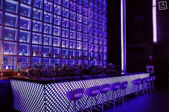 Barra de bar de dise o ataliar caf rlc skybar - Interior barra bar ...