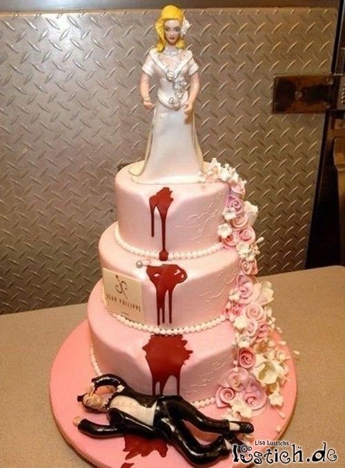 Die Torte nach der Scheidung. Divorce Cake