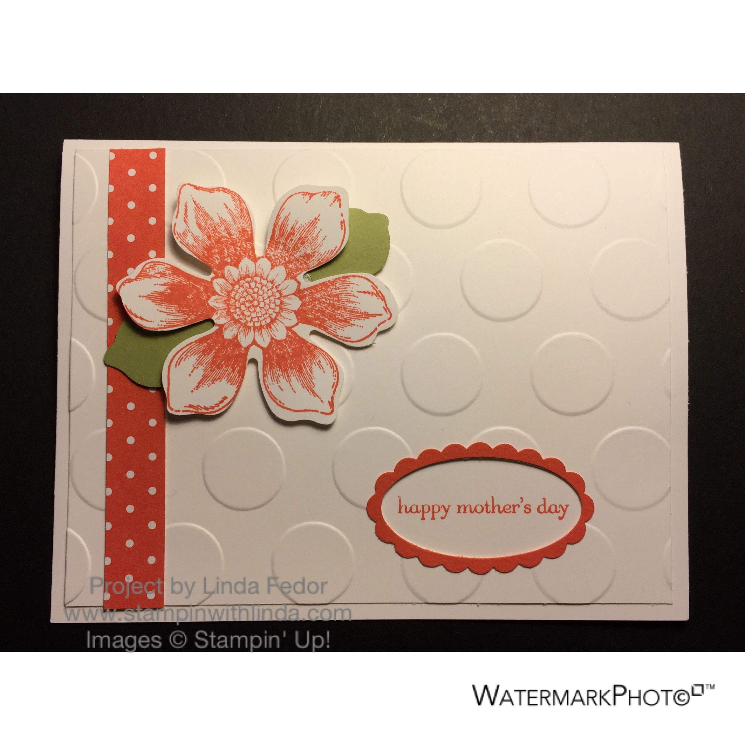 Happy Mothers Day Card #2 Using Stampin Up Beautiful Bunch