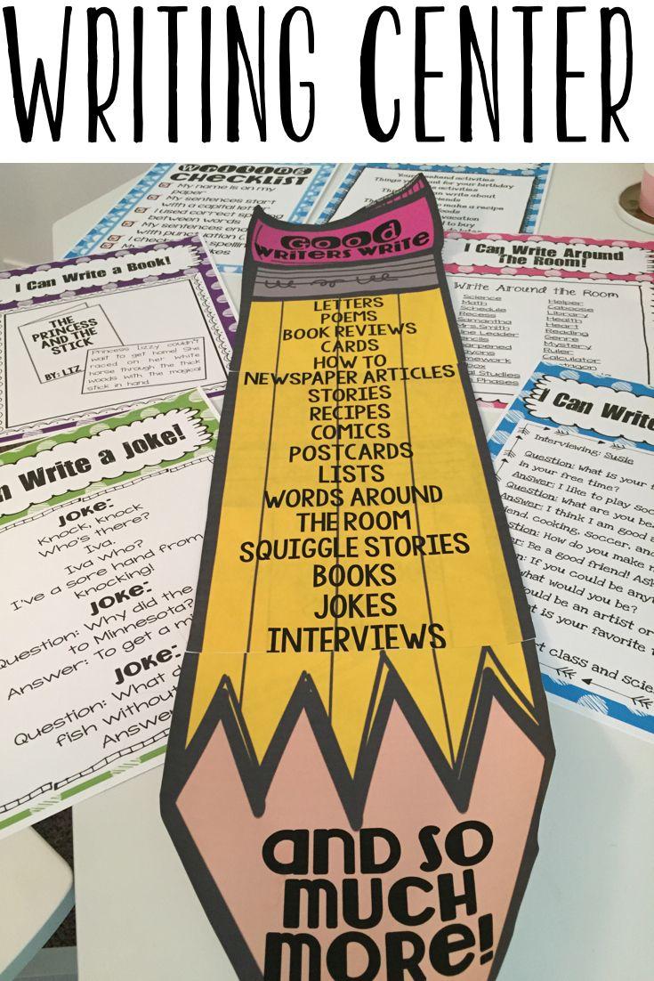 Writing Center Activities Updated Writing Center Writing Center Activities Elementary Writing Free writing center activities for