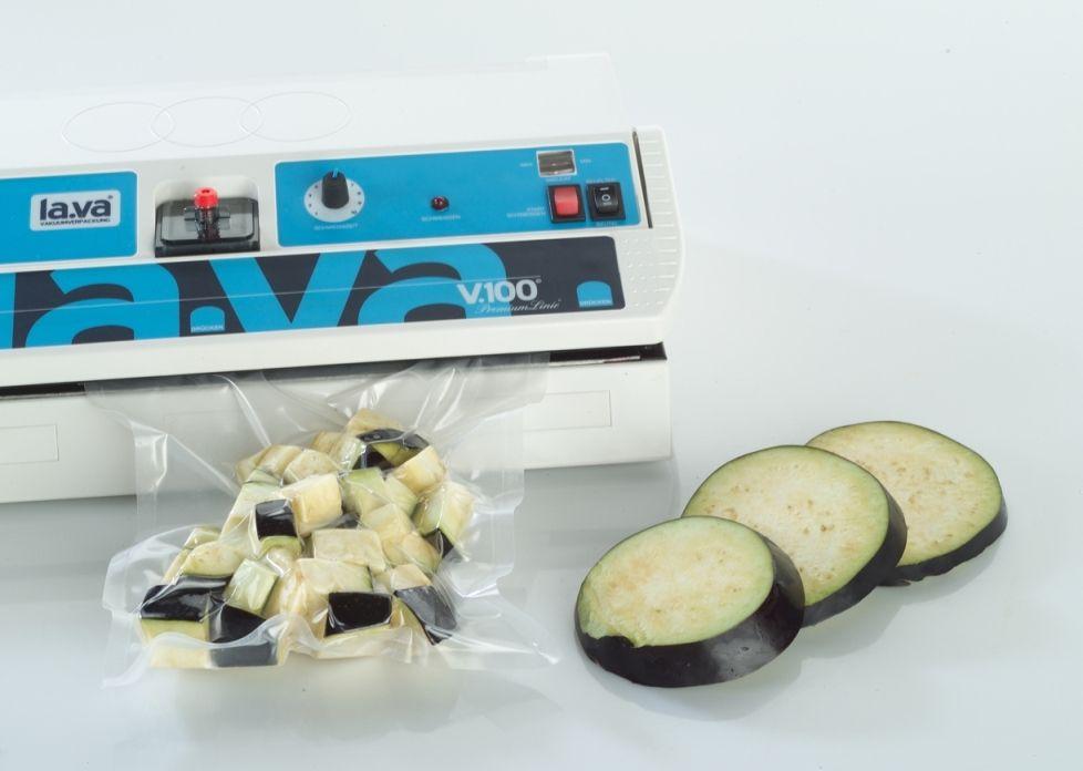 Zucchini vakuumieren mit dem V.100 Premium | Food ...
